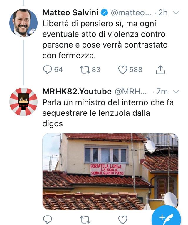 Incoerenza Salvini